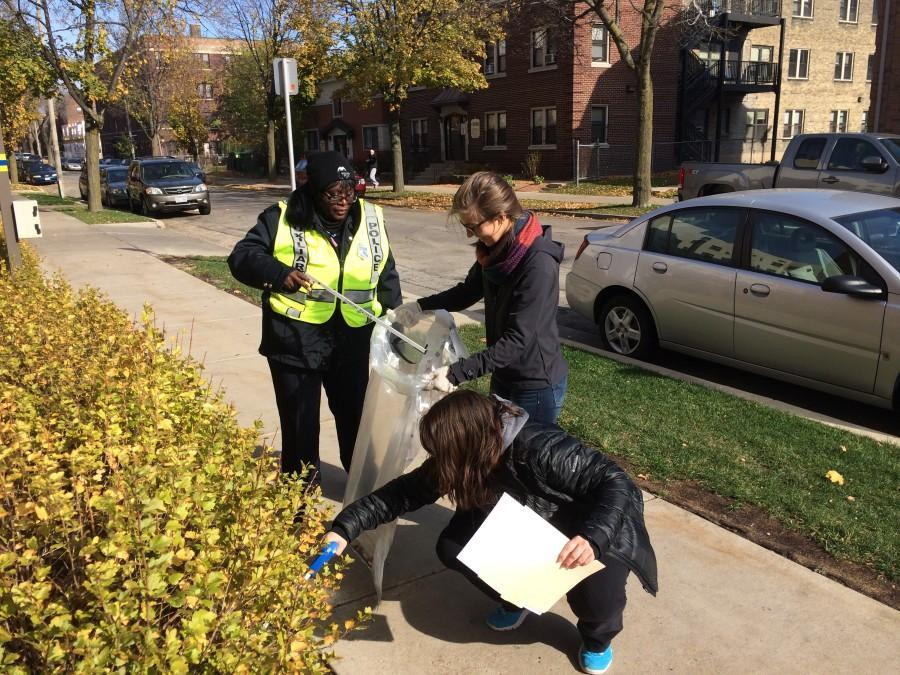 MUSG partners with Avenues West to clean neighborhood