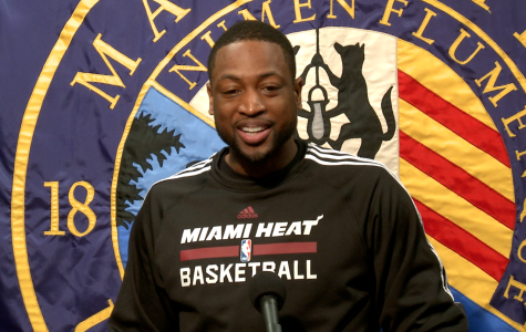 "Wade donates gift for ""Live to Dream"" reading program"
