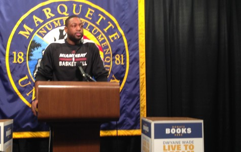 "Marquette to give funds to Dwyane Wade's ""Live to Dream"""