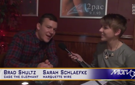 Cage the Elephant's Brad Shultz on MKE's Big Snow Show