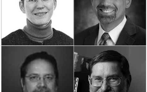 From top left: Dr. Rowena Pecchenino, Dr. Daniel Myers, Dr. John Frendreis and Dr. Paul Ludden.