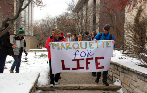 Students, faculty partake in March for Life on campus