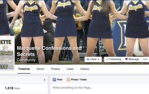 Marquette Confessions page produces positives, negatives