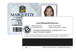Administrator says replacement Marquette ID cards would not be viable