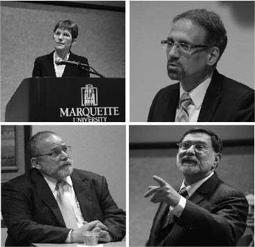All four candidates have a lot to offer the university / Marquette Tribune File Photos