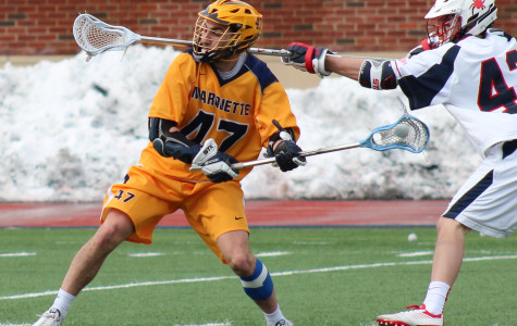 Men's lacrosse heads to Louisville to face Detroit and Ohio State