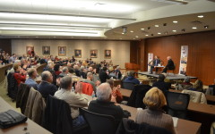 Archbishop Listecki Speaks at Marquette University Law School.
