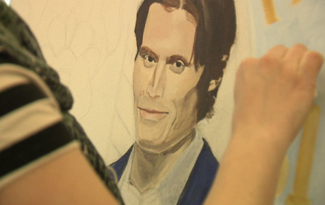 Painted James Foley portrait to be hung at end of February