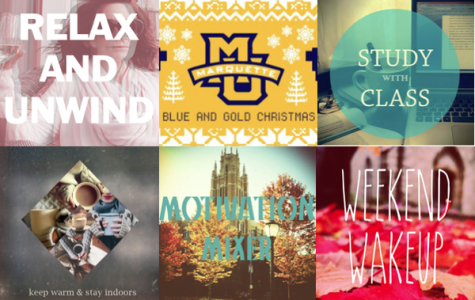 Best playlists on Marquette's Spotify channel
