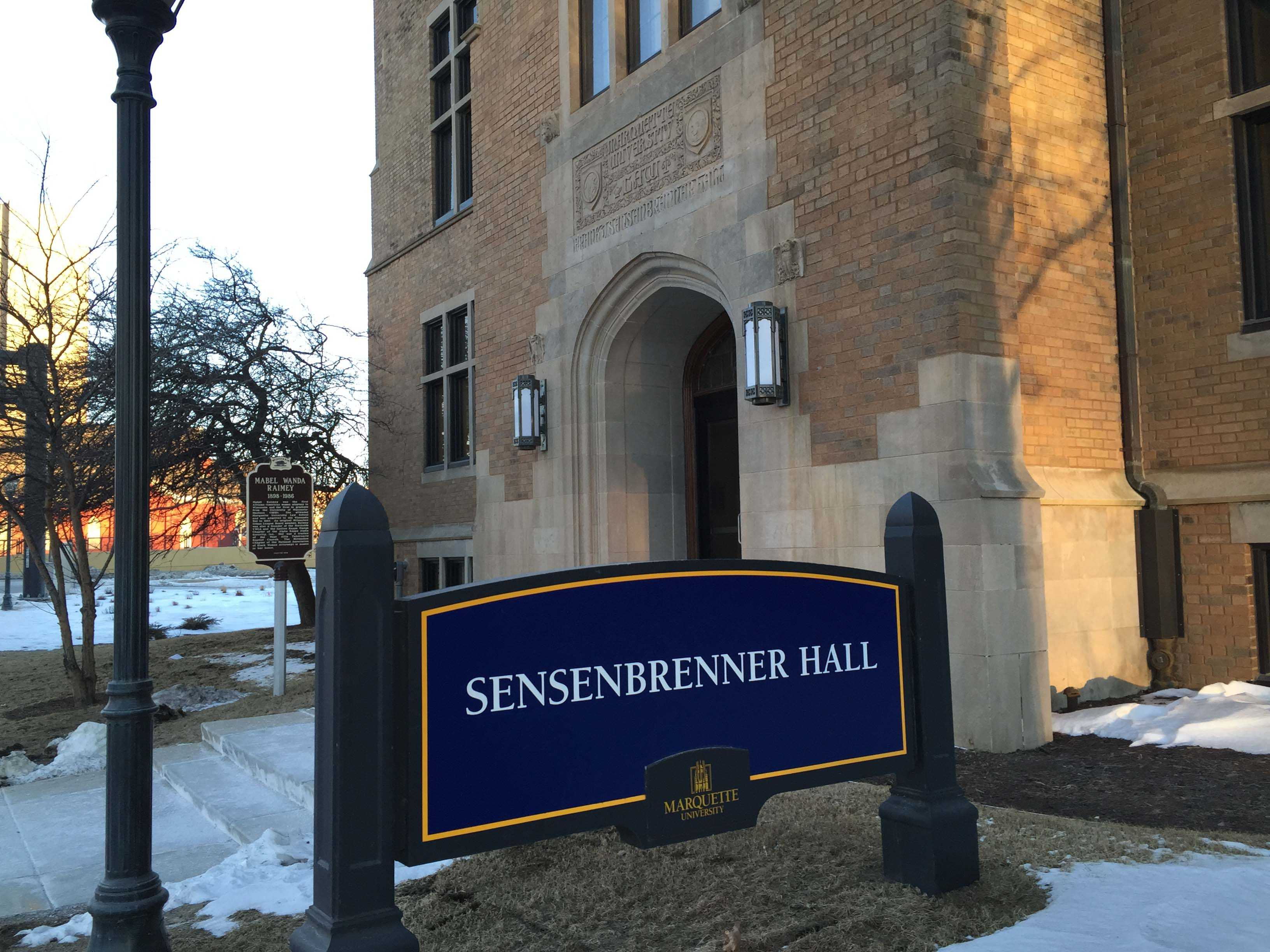 Sensenbrenner Hall, home of the honors program.