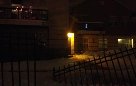Car crashes into Renee Row fence, light pole falls onto street