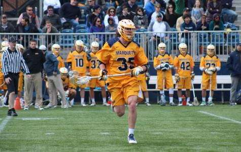 Men's lacrosse coping with first loss to Georgetown