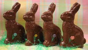 Chocolate bunnies top our list for the best Easter candies and are a must have in everyone's basket.