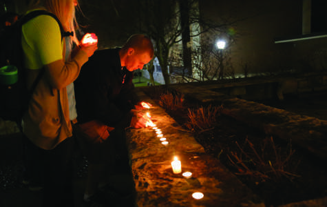 Marquette community members remember professor with candlelight vigil