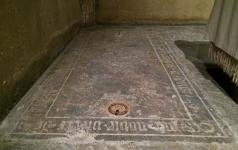 Secrets of a hidden tomb in the Joan of Arc Chapel