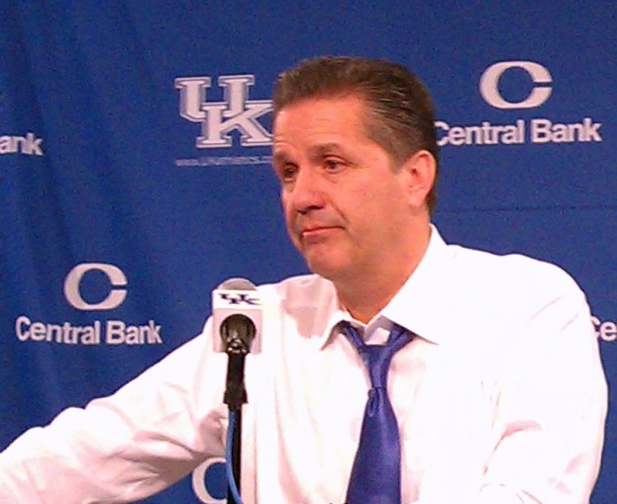 John Calipari, head coach for mens basketball at the University of Kentucky
