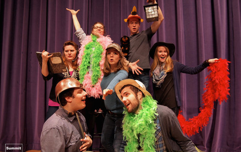 Seniors turn capstone into touring theater company