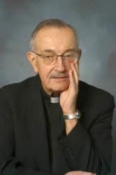 The Rev. Roland Teske wrote around 100 articles. Photo via www2.mu.edu