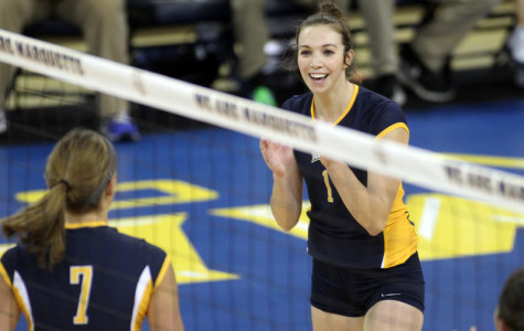 Volleyball opens home stretch with Marquette Invitational