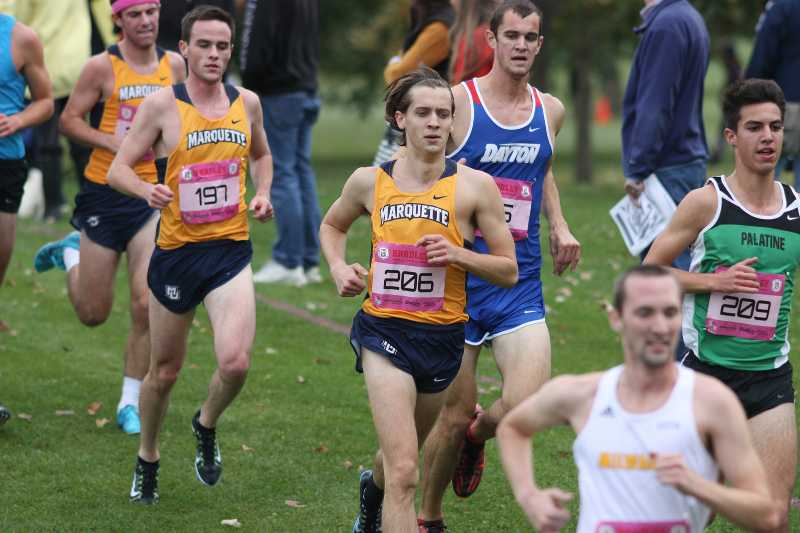 The men and women both underpreformed at last year's Griak Intivational.  (Photo courtesy of Marquette Athletics/Maggie Bean)