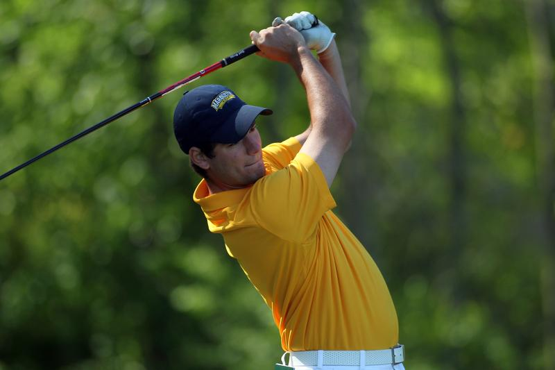 CJ+Swift+led+Marquette+on+a+shaky+scorecard+for+their+first+tournament+of+2015-16.+Photo+courtesy+Maggie+Bean%2FMarquette+Athletics