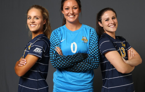 Three Amigas: Women's soccer seniors take charge