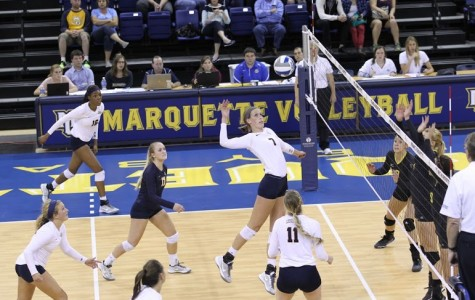Volleyball protects home court with Marquette Invitational win