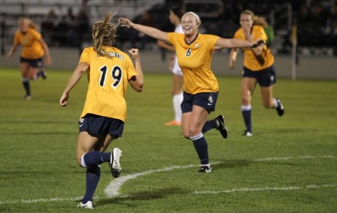 Women's soccer: Golden Eagles fly south for weekend match-ups
