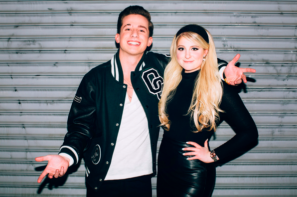 Charlie Puth and Meghan Trainor collaborate on the new single and music video