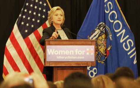 Hillary Clinton talks women's rights, minimum wage at UW-Milwaukee