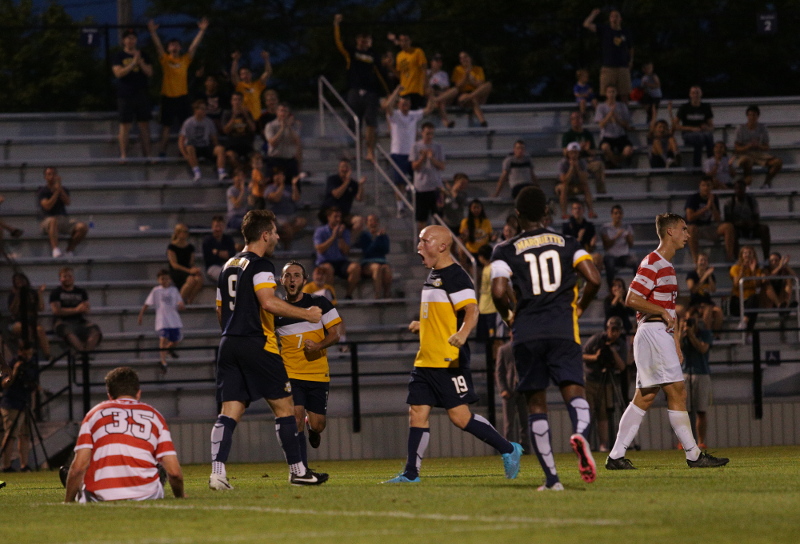 David Selvaggi scored his first of the season in the 68th minute. (Photo by Doug Peters/douglas.peters@mu.edu)