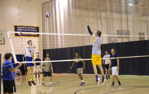 Men's volleyball opens season against UW-Madison at Al