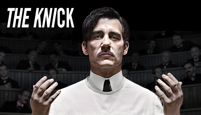 Clive+Owen+plays+Dr.+John+W.+Thackery+in+Cinemax%27s+original+series+%22The+Knick%22