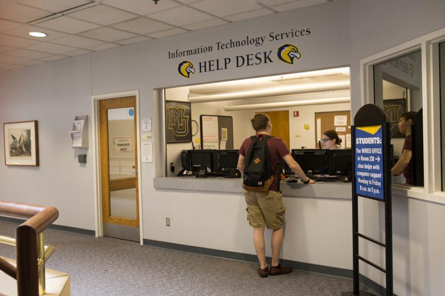 The+IT+Services+Desk+is+located+in+Cudahy+Hall.+Marquette+Wire+stock+photo.