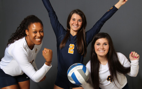Volleyball freshmen are adjusting to work load