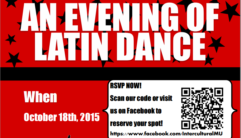 An evening of latin dance provides fun end to Hispanic Heritage Month