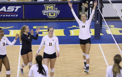 Volleyball clinches BIG EAST Tournament berth
