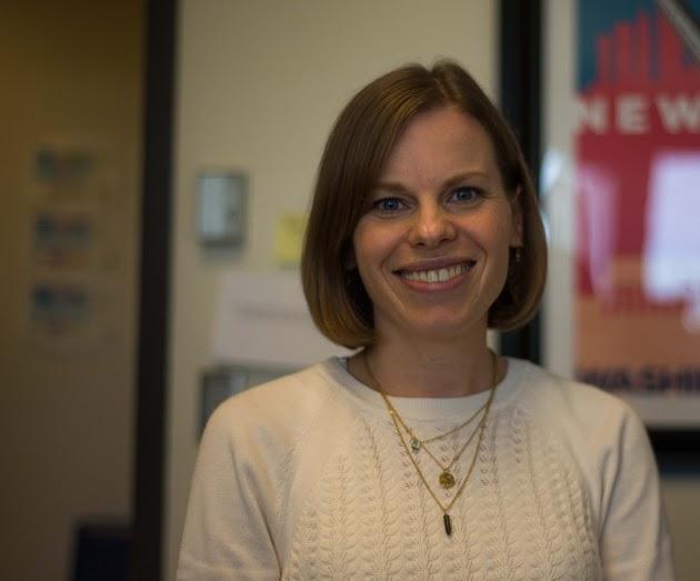 Amber Wichowsky. Photo by Nolan Bollier /nolan.bollier@marquette.edu