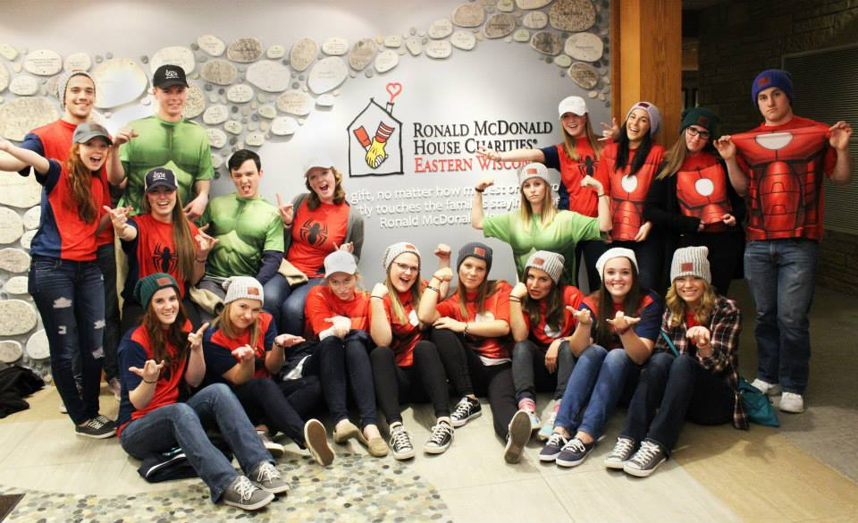 Last year, the Love Your Melon organization went to the Ronald McDonald House in Milwaukee to donate hats for children fighting cancer