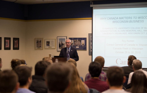 Canadian Consulate member talks American, Canadian trade