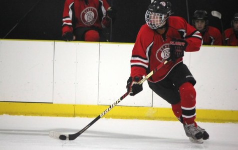 Family matters: freshman adapting to college hockey without cousins