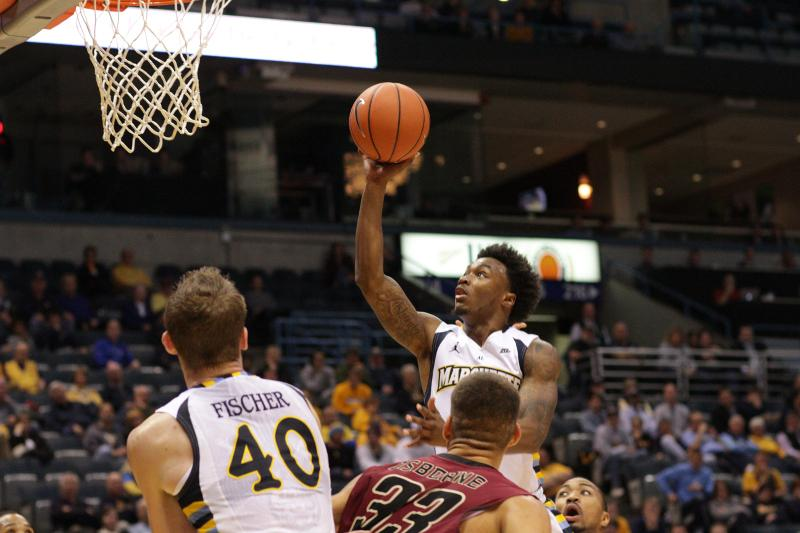 Duane+Wilson+sealed+the+victory+with+an+overtime+layup.+Photo+by+Doug+Peters%2Fdouglas.peters%40mu.edu