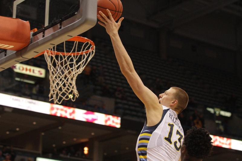 Ellenson scored 16 points in the team's scrimmage on Monday (Photo by Doug Peters/douglas.peters@mu.edu).