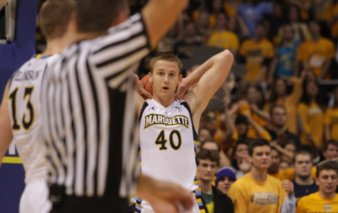 Luke Fischer notched his first two double-doubles this week (Photo by Doug Peters/douglas.peters@mu.edu)
