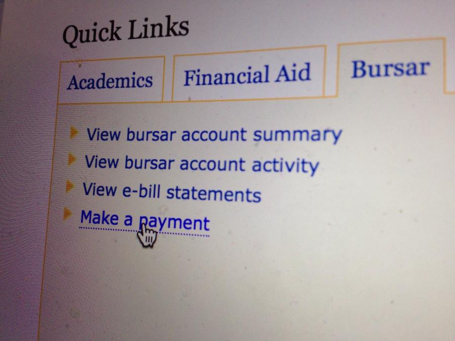 Students can make payments on their loans while in school.