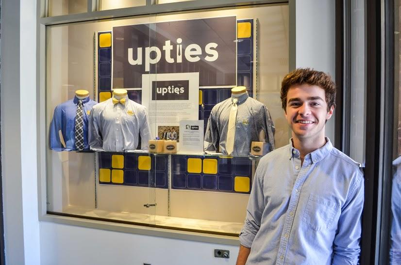 Upties products are currently for sale at the Spirit Shop until Christmas. Photo by Matthew Serafin/ matthew.serafin@marquette.edu