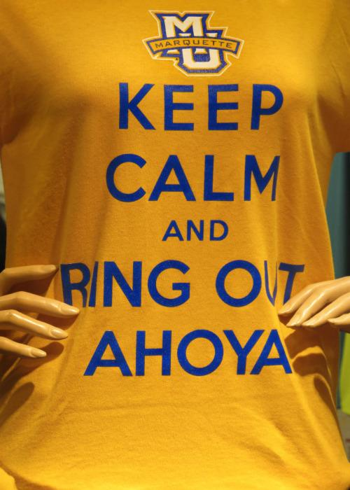 What does it mean to ring out ahoya?