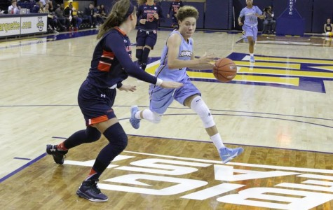 Hiedeman, King lead women to OT win over Auburn