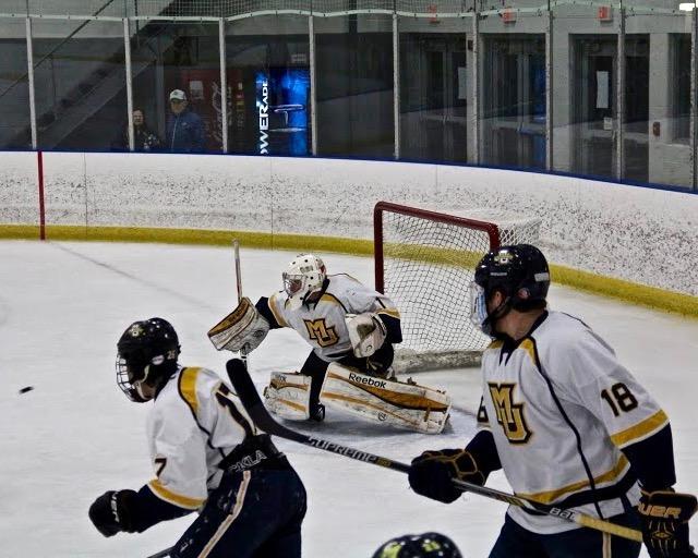 Hockey+sweeps+opening+weekend+against+Madison