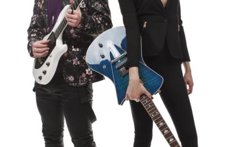 Cole Schwartz and Liv Miner make up the pop/rock group Drayter.
